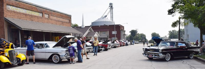 2018 Classic Car Show on the square
